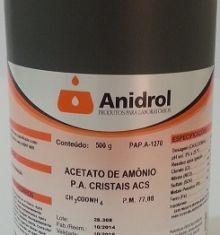 ACETATO DE AMÔNIO - PA