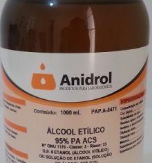 ÁLCOOL ETÍLICO - PA