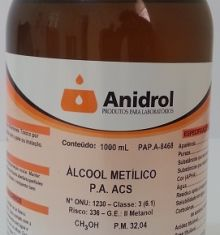 ÁLCOOL METÍLICO - PA