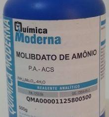 MOLIBDATO DE AMÔNIO - PA