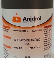 SULFATO DE AMÔNIO - PA