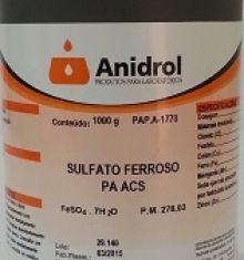 SULFATO FERROSO - PA
