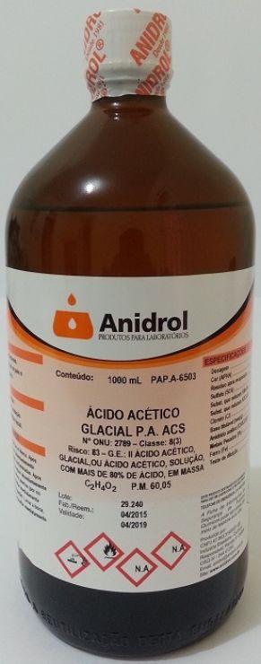 ÁCIDO ACÉTICO - PA