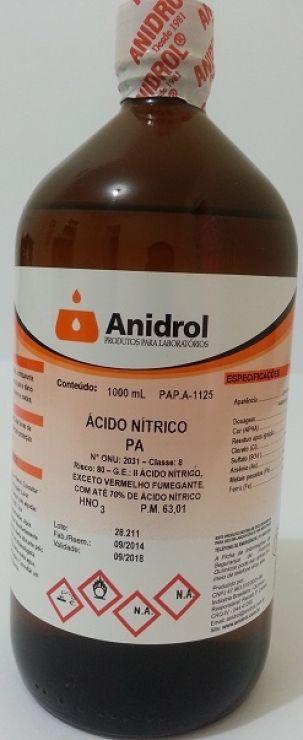 ÁCIDO NÍTRICO - PA