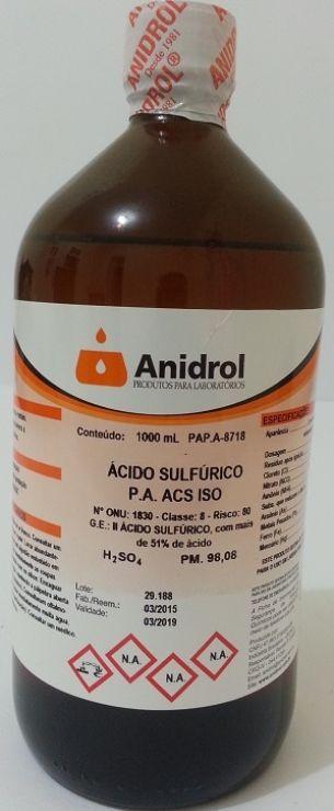 ÁCIDO SULFÚRICO - PA