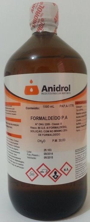 FORMALDEIDO - PA