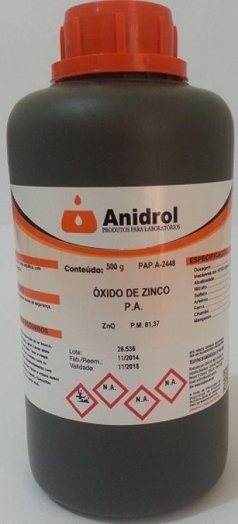 ÓXIDO DE ZINCO - PA