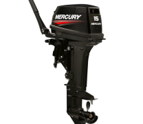 MOTOR MERCURY 15HP SUPER - EL�TRICO