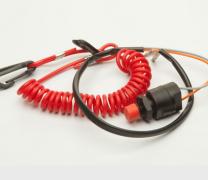 Botão de emergência e desligamento Yamaha - Y550