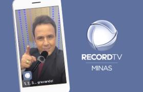 RecordTV Minas lança filtros especiais no Instagram e amplia interatividade