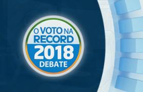 RecordTV Minas registra a sua melhor audiência em debates ao governo do estado!