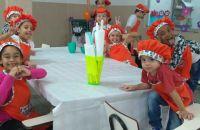Oficina culinária crianças COCEF