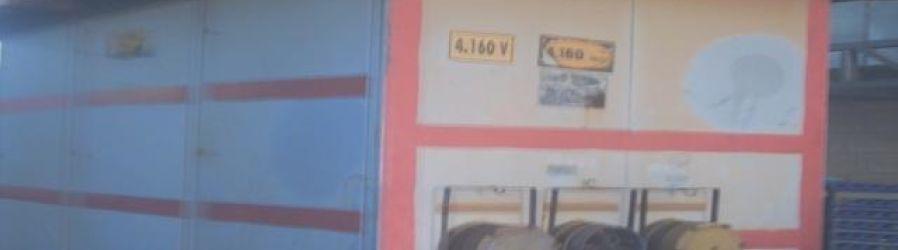 Reforma Completa (Elétrica e Mecânica) de Switch House (4.160V)
