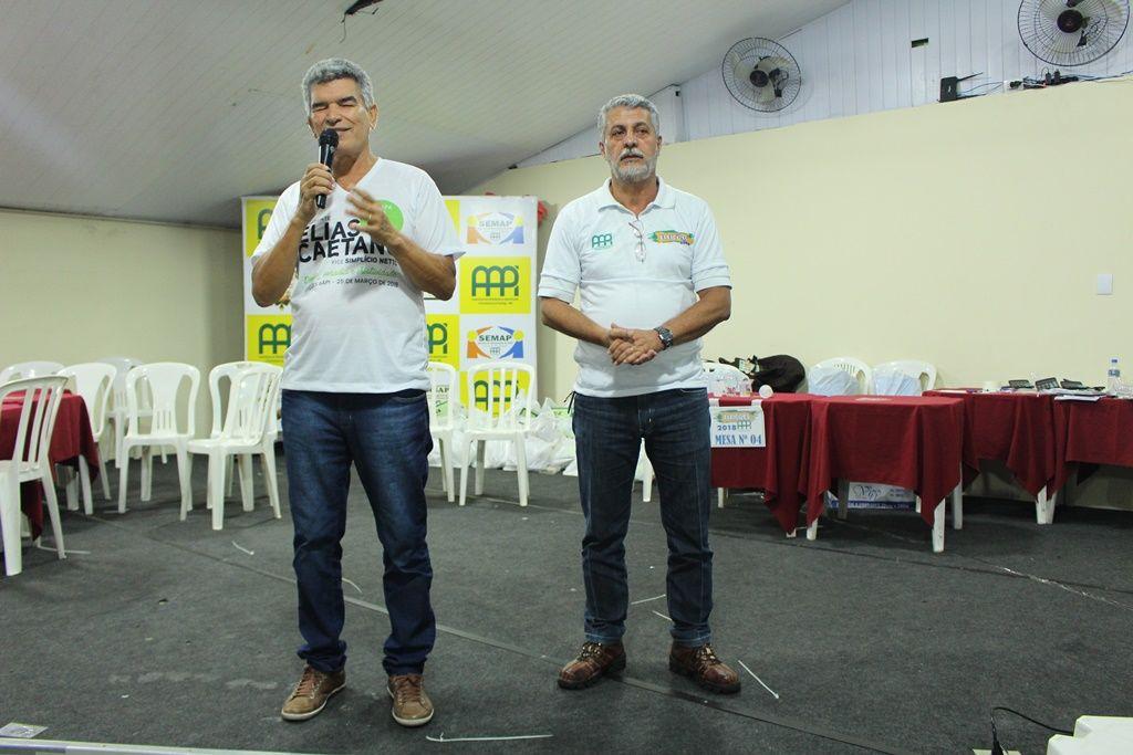 Elias e Robson na AAPI