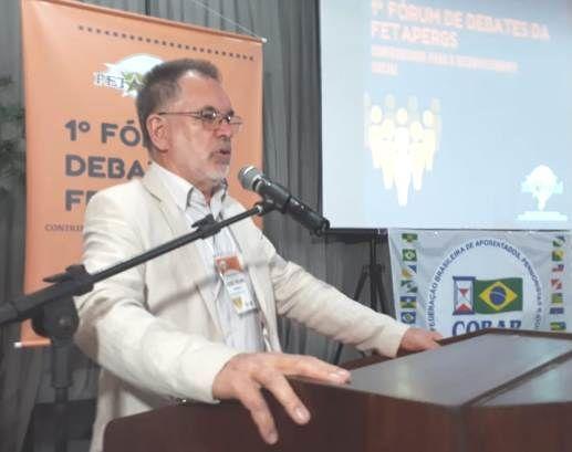 Pedro Khun, na abertura do Seminário