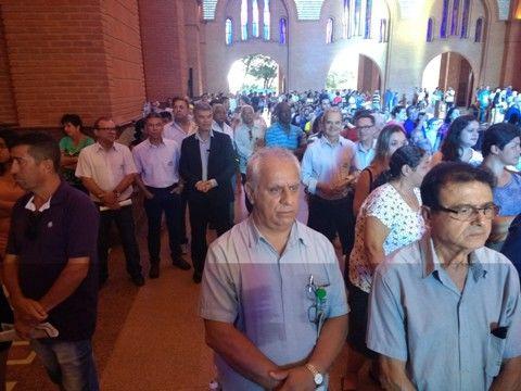 Representação da Associação de Ipatinga, com o presidente Elias Caetano