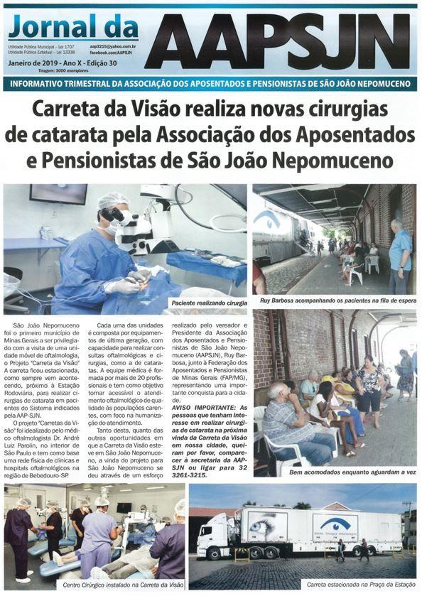 Edição nº 30 do Jornal da AAPSJN