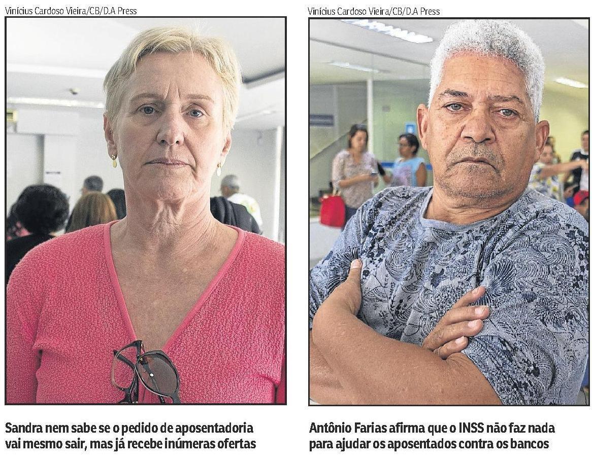 Bancos prosseguem com assédio criminoso a aposentados e pensionistas