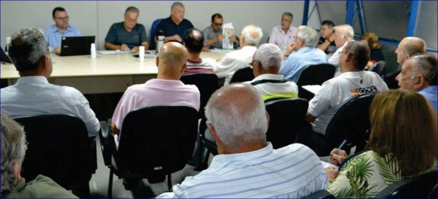 Reunião Cobap e COREF, em 25/07/2019