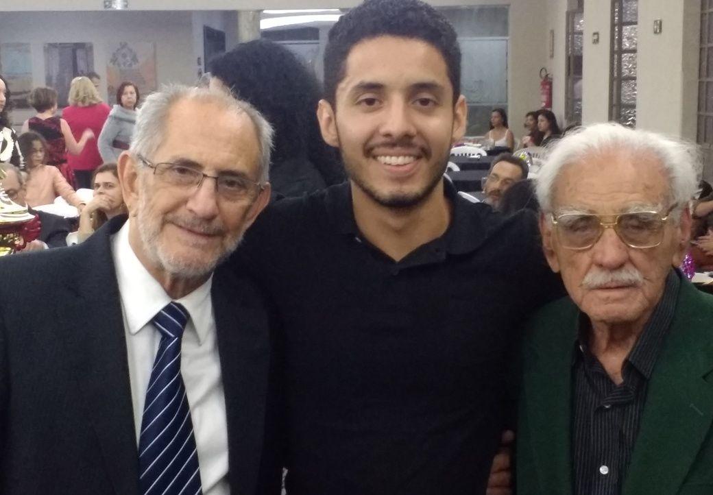 Três gerações presentes