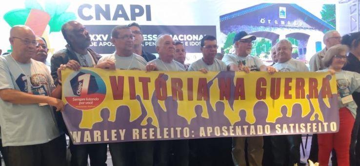 Foi de balaiada a eleição na Confederação Brasileira de Aposentados