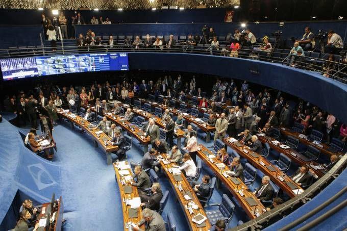 Festa no Senado ao aprovar fim dos direitos previdenciários