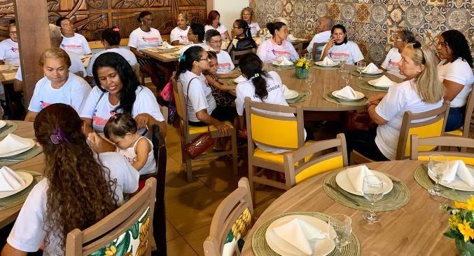 Solenidade de filiação foi encerrada com almoço de confraternização