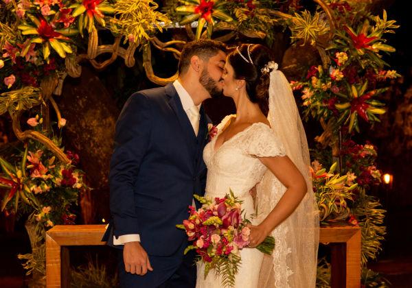 Laura e Eduardo - Villa Santorini