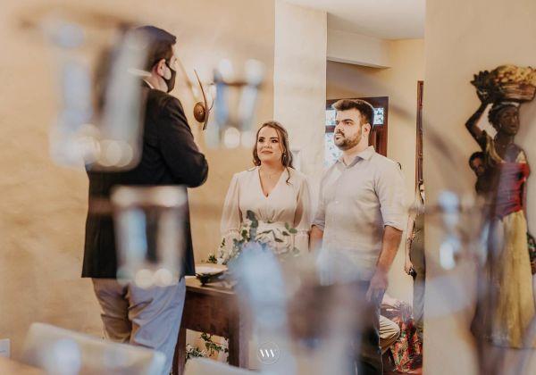 Letícia e Felipe - Mini wedding