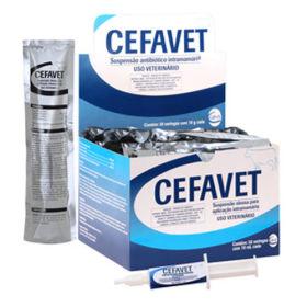 Cefavet - Caixa com 30 seringas de 10 mL cada