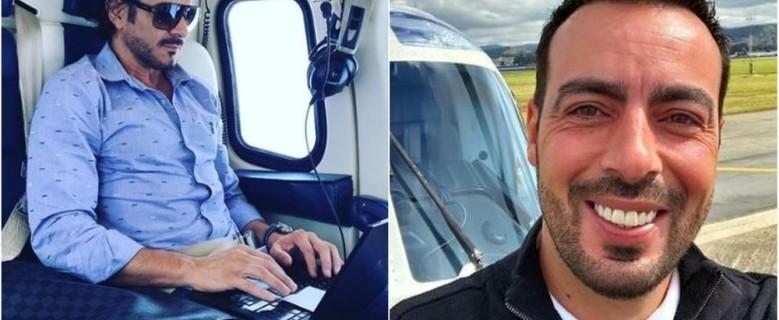 Militares retomam buscas por piloto e empresário que estavam em helicóptero que caiu em MG
