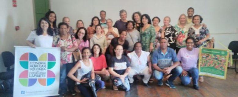 Conselheiro Lafaiete sediou o Fórum Regional de Economia Solidária