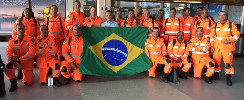 Nova equipe de bombeiros de Minas viaja para Moçambique para prestar ajuda humanitária