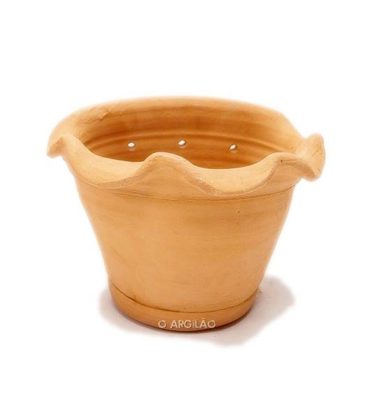 Vaso de Parede Babado