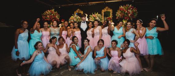 Baile de Debutantes Projeto Fadas Madrinhas Privilege Juiz de Fora - MG