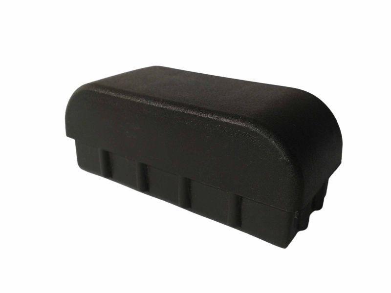 Ponteira Retangular <br> 30x70mm Abaulada