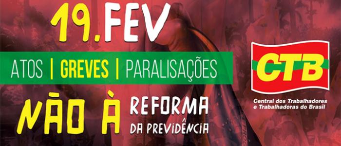 Dia Nacional contra a Reforma da Previdência