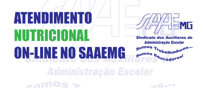 ATENDIMENTO NUTRICIONAL ON-LINE NO SAAEMG