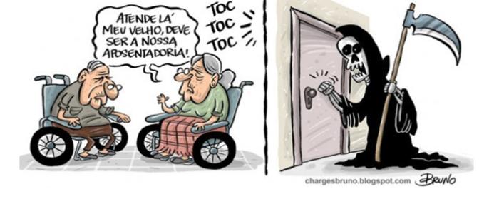 Trabalhar até morrer sem direito à aposentadoria