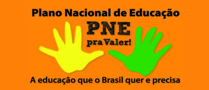 Assine a peti��o on line a favor do PNE