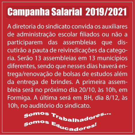 Campanha salarial 2018