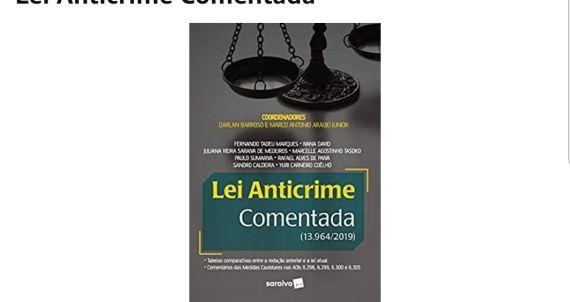 Livro Pacote Anticrime