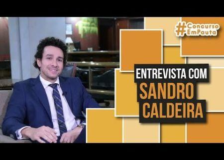 Concurso Em Pauta -entrevista - Sandro Caldeira - Direito Penal