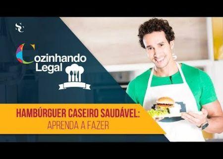 Hambúrguer Caseiro com grãos