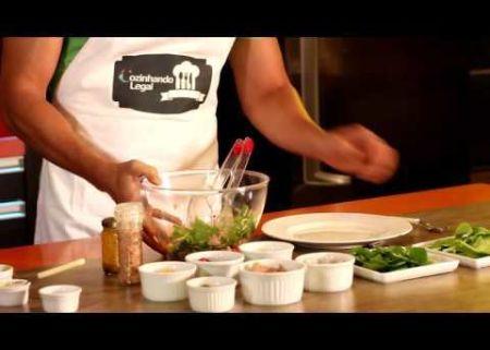 Cozinhando Legal - Programa 03 - Salada da Aprovação