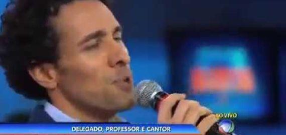 Sandro Caldeira no programa Cidade Alerta Rio