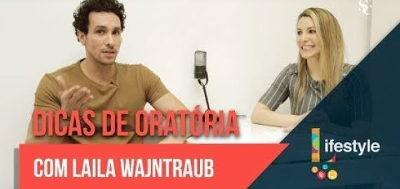 Dicas de oratória com Laila Wajntraub