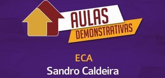 Aula Demonstrativa - ECA - Sandro Caldeira