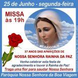 FESTA DE NOSSA SENHORA RAINHA DA PAZ - 2018