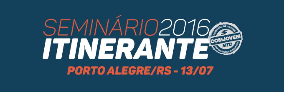 Semin�rio Itinerante - COMJOVEM | Edi��o Porto Alegre / RS